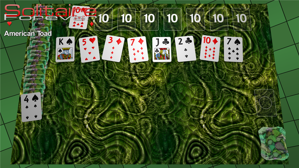 American Toad solitaire