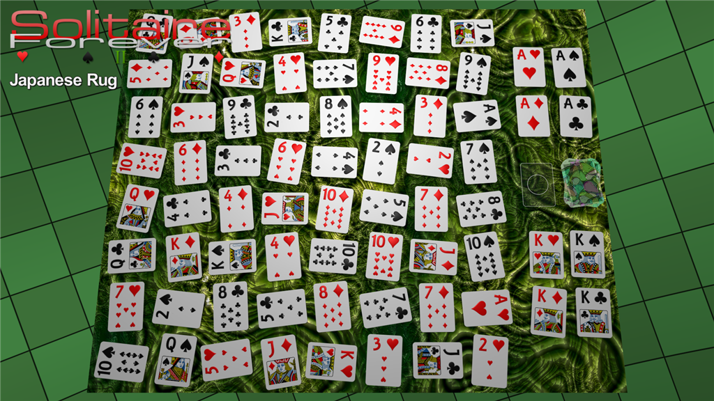 Japanese Rug solitaire